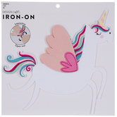 Believe Unicorn Iron-On Applique