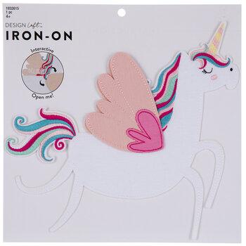 Believe Unicorn Iron-On Applique