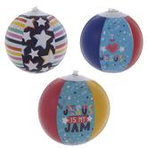 I Love Jesus Mini Beach Balls