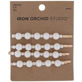 Plastic Pearl Bobby Pins