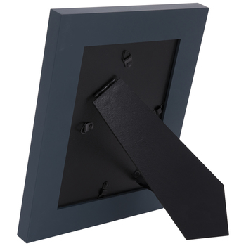 Blue Distressed Wood Frame