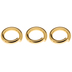 10K Gold Plated Jump Rings - 4.75mm