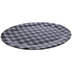Black & White Buffalo Check Platter