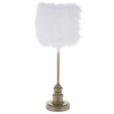 Gold Faux Fur Lamp