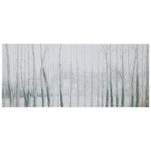 Hazy Birch Trees Canvas Wall Decor