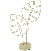 Gold Leaf Metal Photo Clip