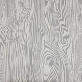 Gray & Ivory Mime Wood Grain Apparel Fabric