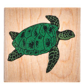 Sea Turtle Rubber Stamp