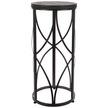 Cylinder Metal Plant Stand