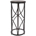 Cylinder Metal Plant Stand - Large