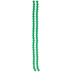 Emerald Round Bead Strands - 6mm