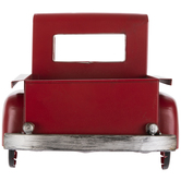 Red Truck Bed Metal Wall Decor