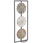 Flower Metal Wall Sconce