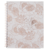 2021 Pink Flowers Faith Planner - 12 Months