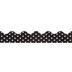 Black & White Polka Dot Trimmer