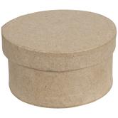 Round Paper Mache Boxes