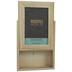 Wood Frame With Sliding Panel - 4