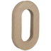 Paper Mache Number 0 - 16