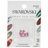 Swarovski Nail Art Mini Heart Flatback Crystals