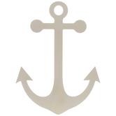 Anchor Wood Shape