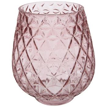 Pink Diamond Textured Vase
