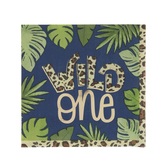 Wild One Napkins - Small