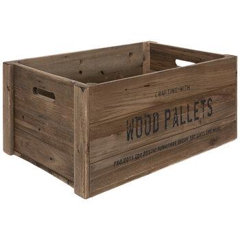 Wood Pallet Crate - Medium