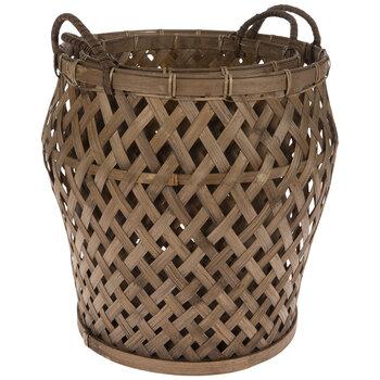 Flared Bamboo Basket Set