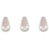 Teardrop Acrylic Pearl Beads - 10mm