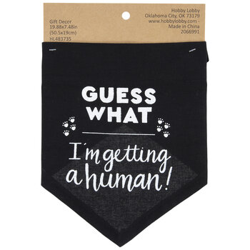 I'm Getting A Human Pet Scarf
