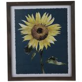 Watercolor Sunflower Framed Wall Decor