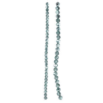 Faceted Glass Bead Strands