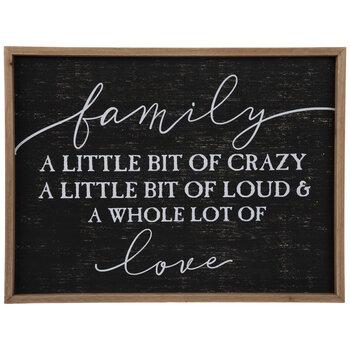 Family Love Wood Wall Decor