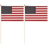 "U.S.A. Flags - 12"" x 18"""
