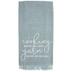 Yarn Makes Me Happier Fringe Kitchen Towel
