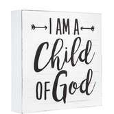 Child Of God Wood Wall Decor