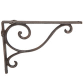 Simple Swirl Metal Wall Bracket