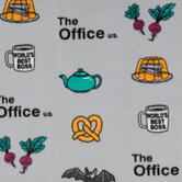 The Office Fleece Fabric