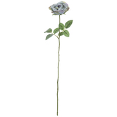 Two-Tone Green Single Rose Stem