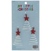 Spiral Tree Mini Ornaments