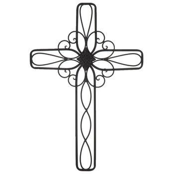 Metal Wall Cross