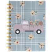 Farmhouse Plaid Notebook