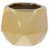 Faceted Hexagon Pot