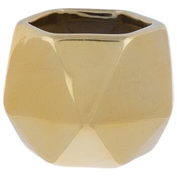 Faceted Hexagon Pot