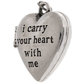 I Carry Your Heart With Me Locket