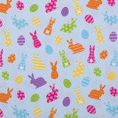 Bunnies & Eggs Apparel Fabric