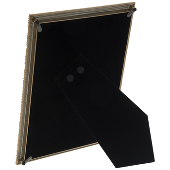 """Gold Weave Texture Metal Frame - 5"""" x 7"""""""