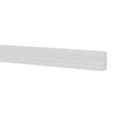 Miniature White Beveled Baseboards