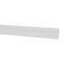 Miniature White Beveled Baseboards
