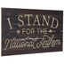 National Anthem Wood Wall Decor